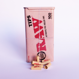 RAW AUTHENTIC PRE-ROLLED TIPS